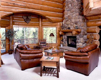 About our company grand lake log homes handcrafted for Designer interiors soldotna